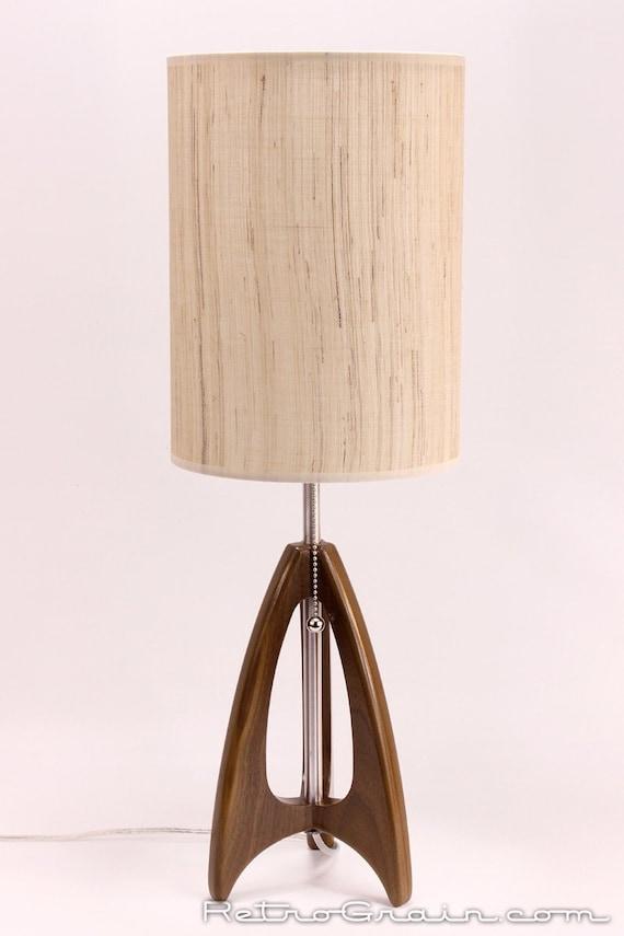 Tripod Table Lamp Mid Century Style Danish Modern Etsy