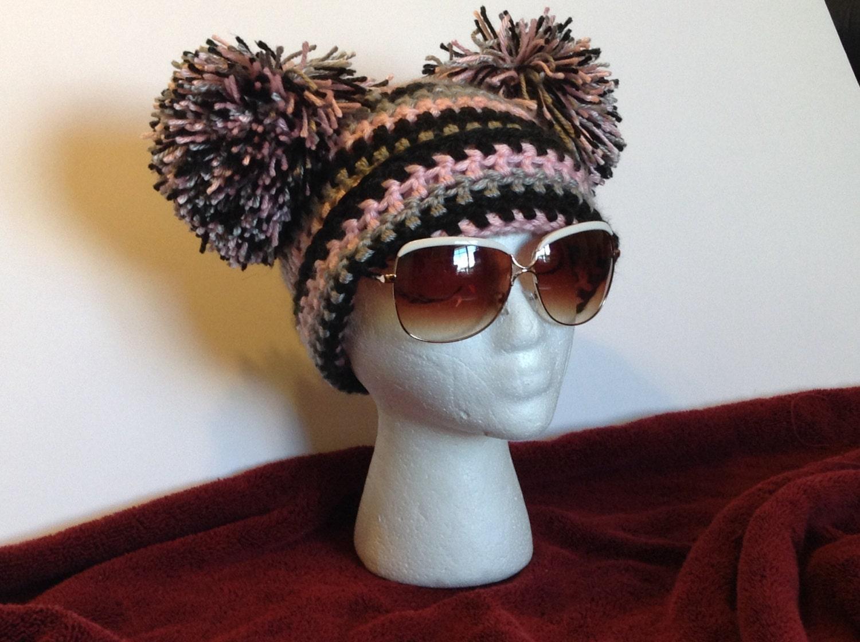Patrón del sombrero de pompones patrón del sombrero de pom | Etsy