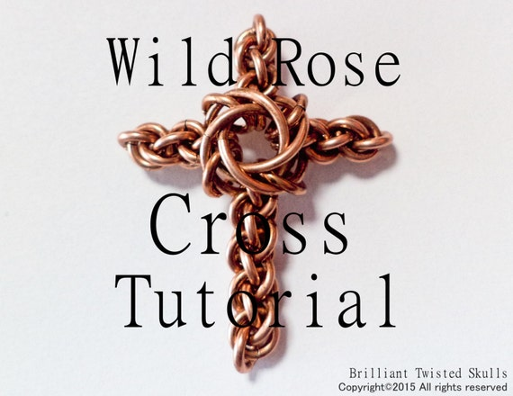 Wild Things Sterling Silver Twisted Wire Cross Pendant