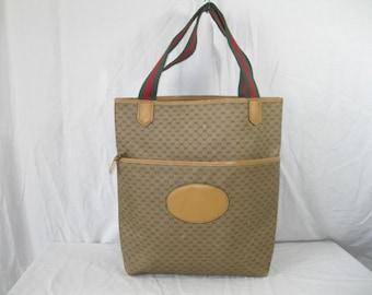 78abdbf9c55c3 Gucci shoppers tote | Etsy