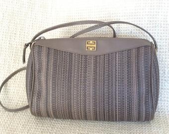 78c0797b2907 Genuine vintage GIVENCHY taupe crossbody sling shoulder bag