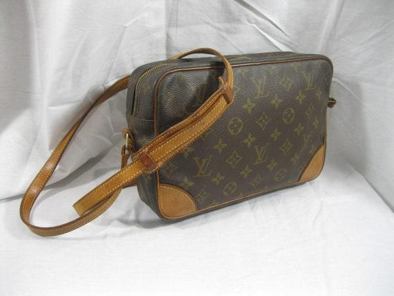 Vintage authentic LOUIS VUITTON Trocadero 27 brown monogram 671799e167795