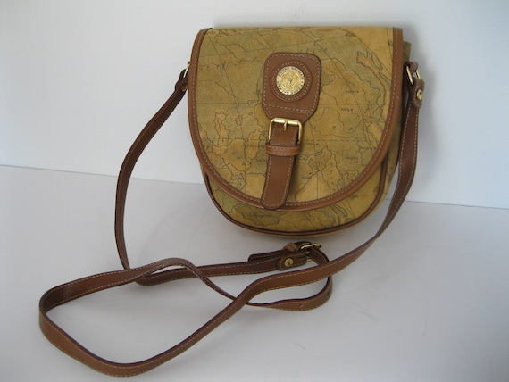 Genuine vintage PIERRE BALMAIN world map saddle bag cross on map shoes, map luggage, map boots, map crossbody, map skirt, map phone case, map jacket, map scarf, map white, map trunk, map suitcase, map wallet, map sweater,