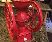 Original 1873 Coffee Grinder from Enterprise Mfg in Philadelphia. Very clean and functional.