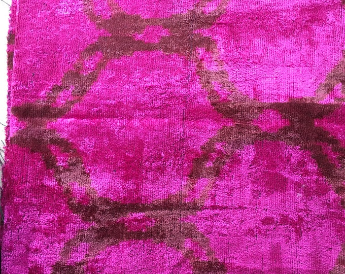 Silk Ikat Velvet