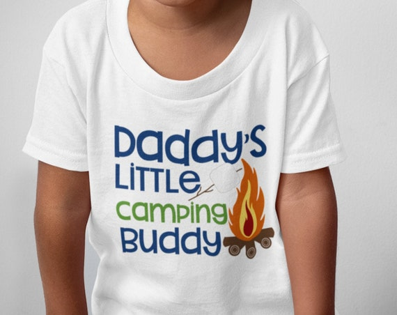 Cute Kids' Camping T-Shirts or Onesies!  FAST SHIPPING!