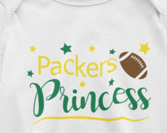 Packers Princess Infant Bodysuit or Toddler T-Shirt