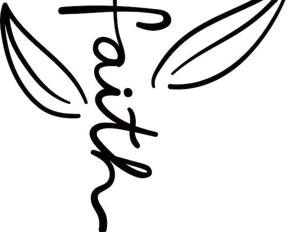 FAITH Vinyl Decal for glass, computer, phone, tumbler, FREE SHIPPING