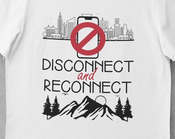 Disconnect, Reconnect, Hiking T-Shirt