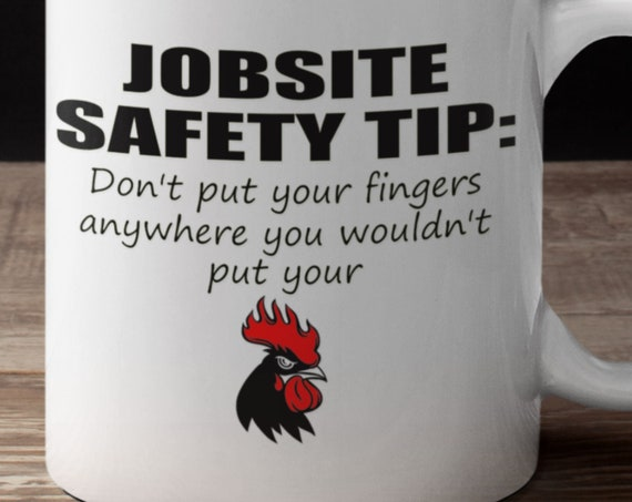 Fun Gift for Co-worker Gift, Gift for Friend, Job Worksite Tip Coffee Mug