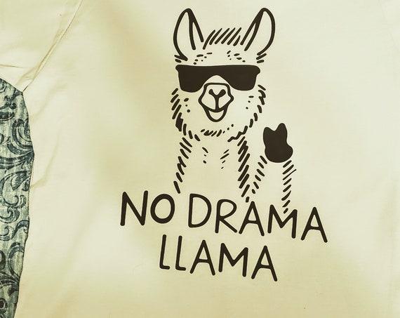 No Drama Llama Toddler or Youth T-Shirt, FAST SHIPPING!