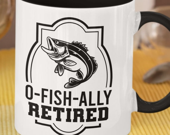 Great Retirement Gift for those who love to Fish!  Large 15 oz, FAST SHIPPING!