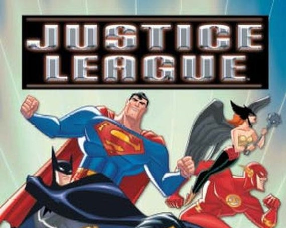 Clearance!  JUSTICE LEAGUE Personalized Giant Book, Fast Shipping!
