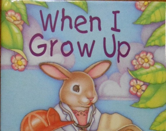 Clearance! WHEN I GROW UP  Personalized Book, Fast Shipping!