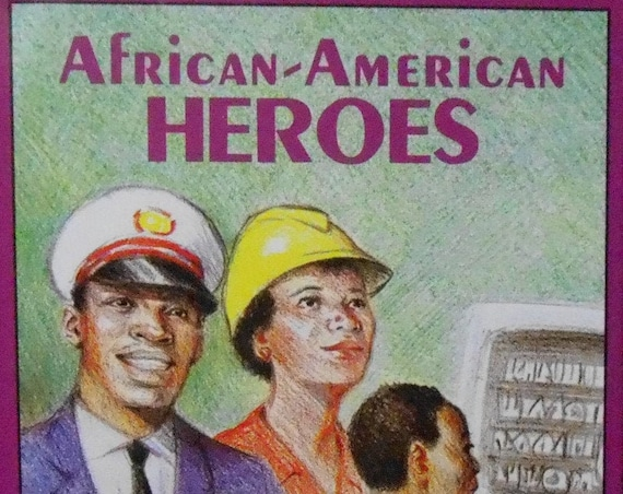 Clearance! AFRICAN-AMERICAN HEROES Personalized Book, Fast Shipping!