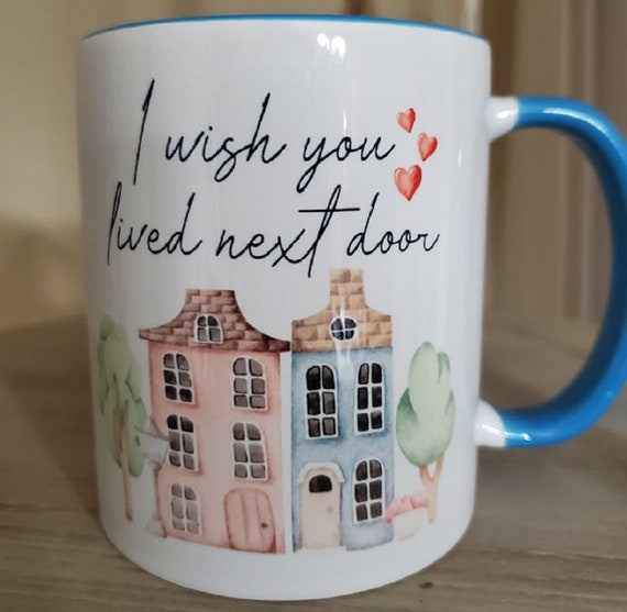 Great Gift for Long Distance Friends, Relatives, Students, 11 oz Coffee Mug Various Colors