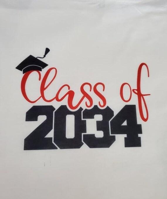 Gift for Pre-school, Kindergarten, Class of 2034 T-Shirt!