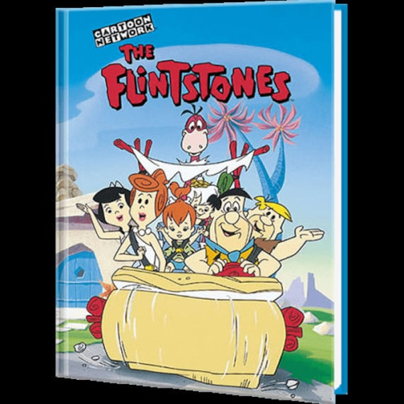 Clearance!  THE FLINTSTONES Giant Personalized Book, Fast Shipping!