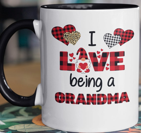 Cute I Love Being a Grandma, 11 oz mug, Great gift for Grandma