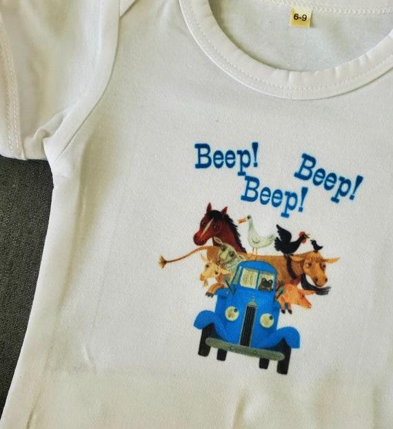 Beep! Beep! Beep! T-Shirts or Onesies, Can Add Name! FAST SHIP