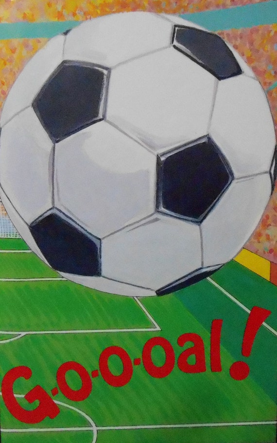 CLEARANCE!  GOAL SOCCER! Personalized Book, Fast Shipping!