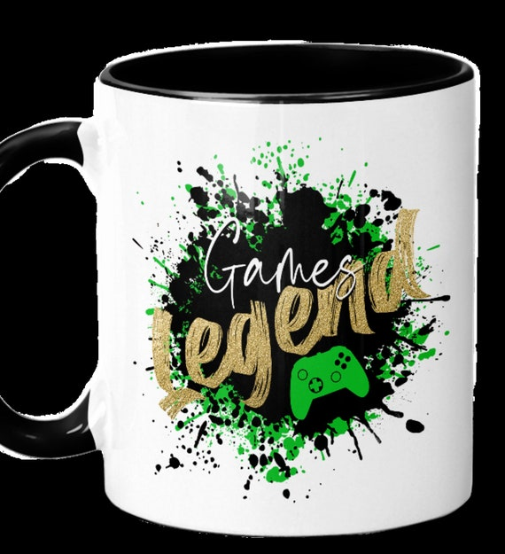 Great Gift for Gamers! Game Legend 11 oz Coffee Mug, FAST SHIPPING!