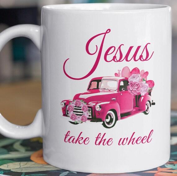 Jesus Take The Wheel, Inspirational 11 oz Coffee Mug