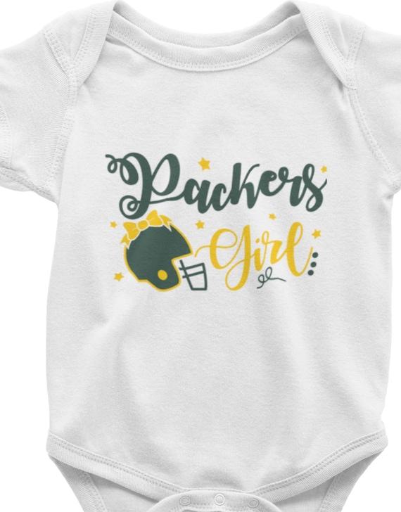 Packers Girl Infant Bodysuit or Toddler T-Shirt