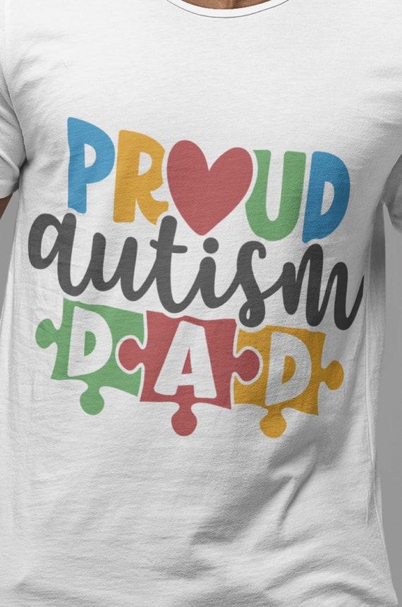 Proud Autism Dad T-Shirt