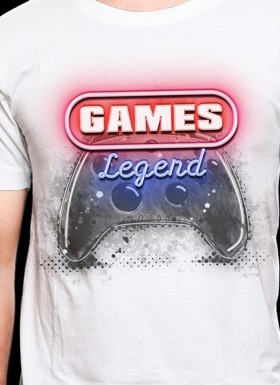 Neon Legend Game Shirt, FAST SHIPPING!