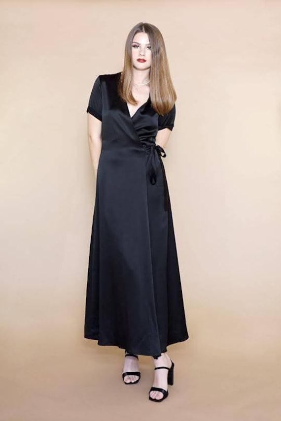 Black Silk Dresses