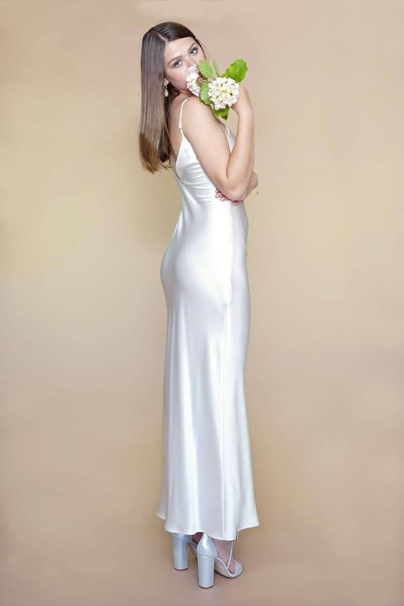 789b905ba112 SILK Slip Dress Our Pure Silk Pearl Also Available in a   Etsy