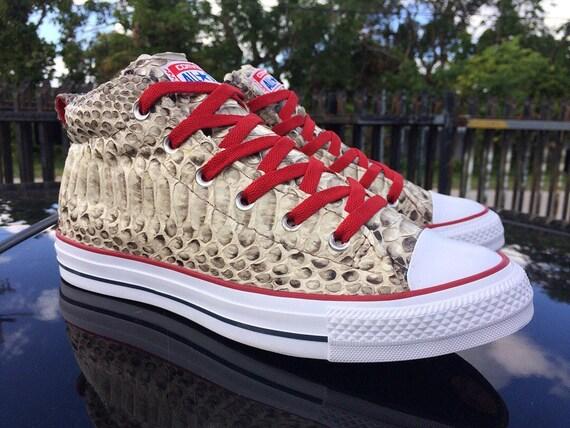 9d18b0bf6a32 All star chuck mid Python  Croc