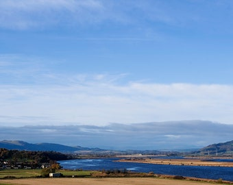 River Tay looking west towards Perth print. Fine art photographic print showcasing Scottish Nature Photography
