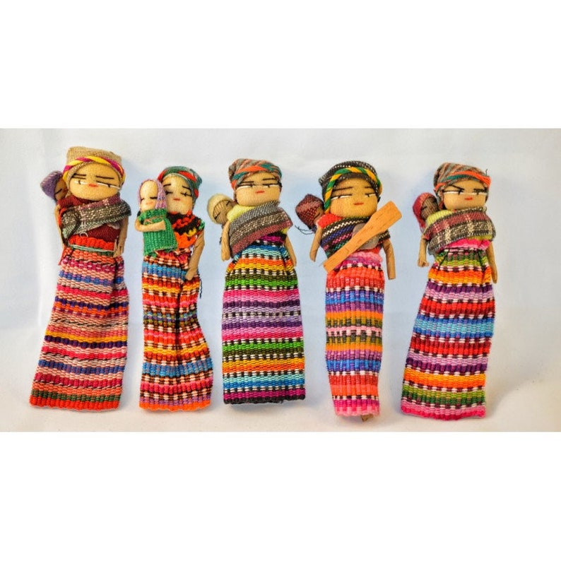 Worry Doll Mother with Child image 0