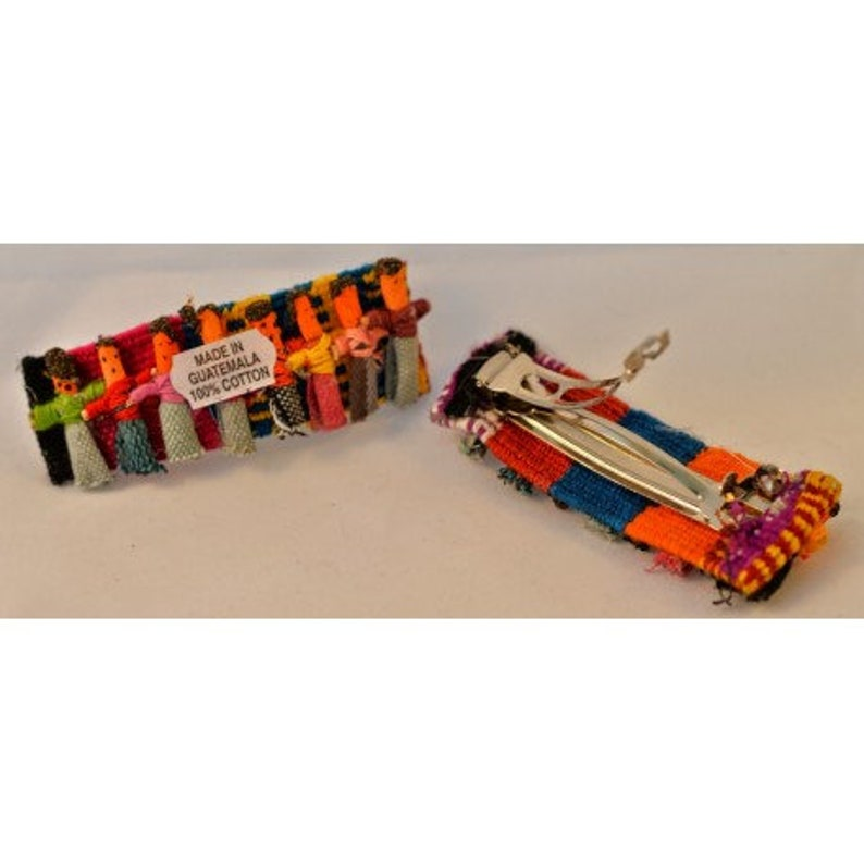 Sm Worry Doll Hair Barrette image 0
