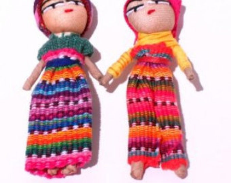 Lg 3 Worry Doll for Crafts image 0