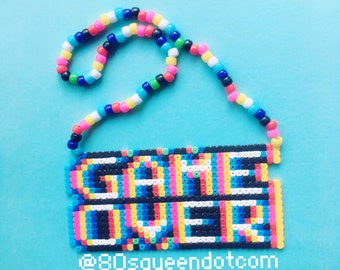 Kandi necklace mind blowing Game over