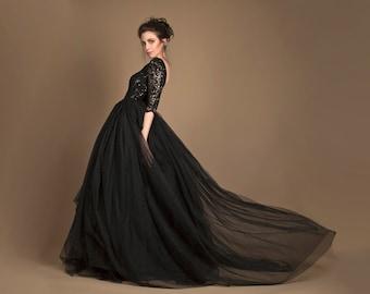 Bridal Black Dresses