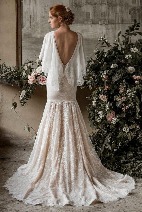 SAMPLE SALE Mermaid wedding dress trumpet wedding dress   Etsy