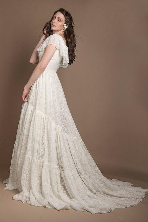 Edwardian style wedding dress edwardian wedding gown 1910s | Etsy