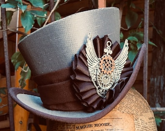 REDUCED -Middie Top Hat - Steampunk Edition