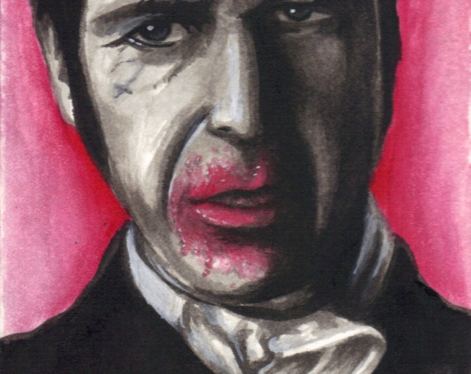 Russell Edgington- Art inspired by True Blood - Print 4 x 6