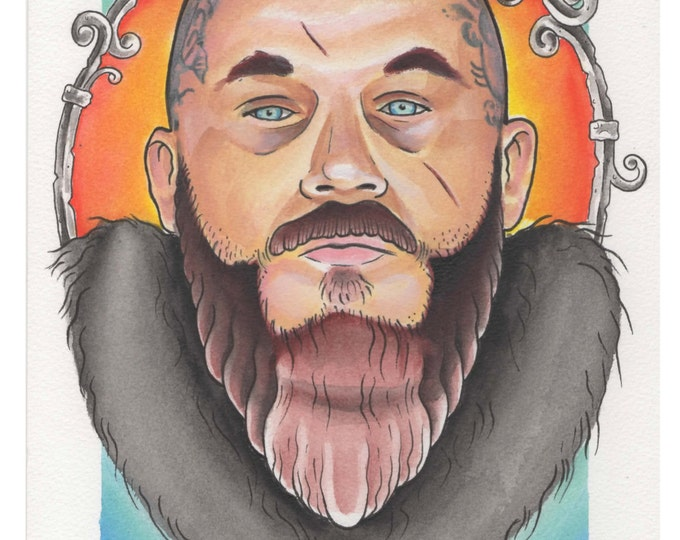 Don't look back  - Ragnar Lothbrok - Vikings
