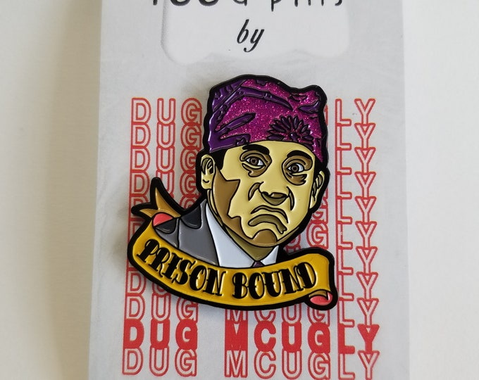 Prison Bound - Enamel Pin - Prison Mike