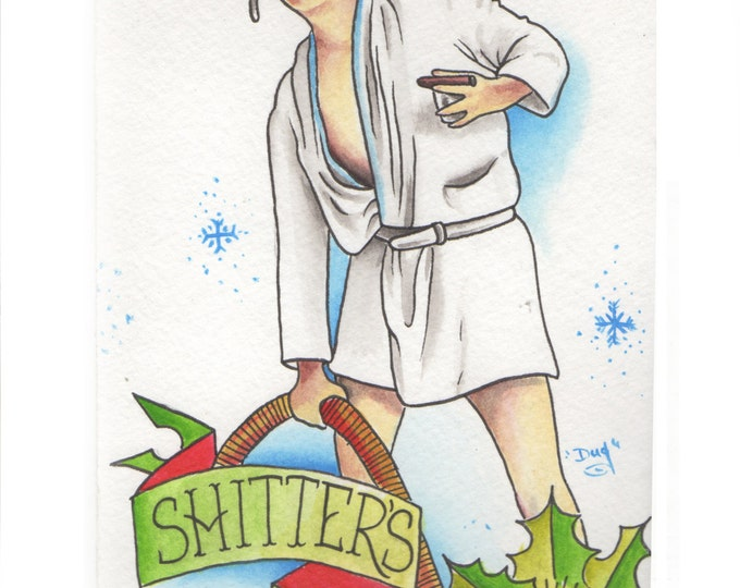 Cousin Eddie - Art based on the movies - National Lampoons Christmas Vacation