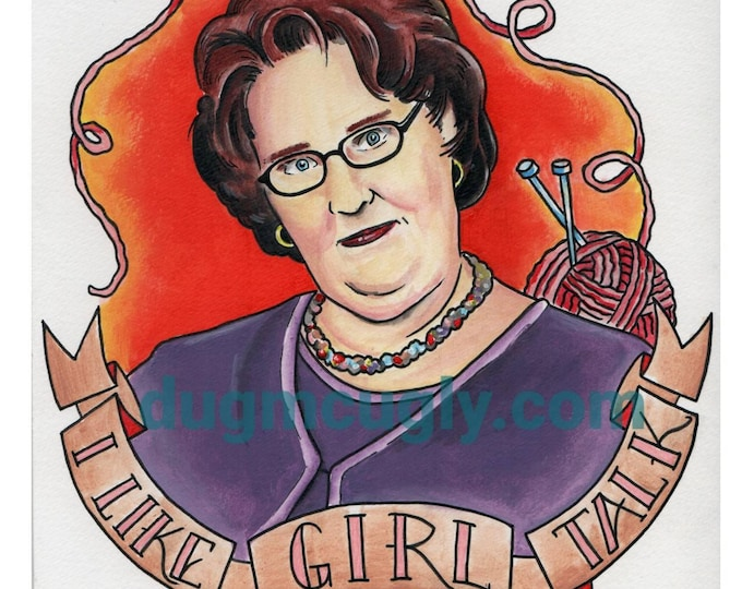I like girl talk - the Office - Phyllis Lapin-Vance