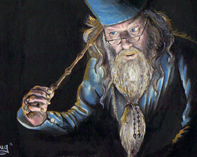 Dumbledore - Print - Harry Potter inspired