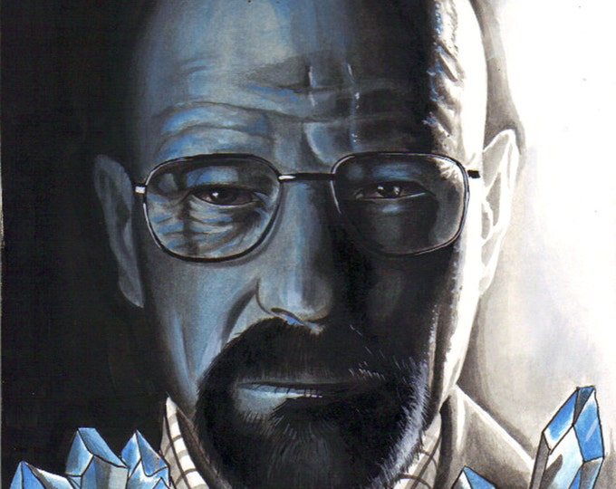 Crystal Blue Persuasion print - Breaking Bad Inspired