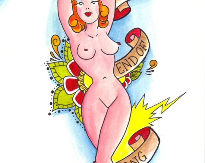 Naked - Art based on Pop Culture - Justin Timberlake